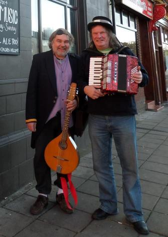 Steve Cartwright and Kenny Wilson who also play together as duo Falling Angels